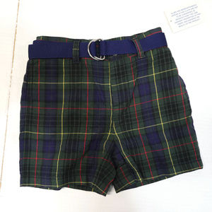 Polo by Ralph Lauren | plaid belted shorts NWT 18